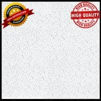 ARMSTRONG FINE FISSURED CEILING TILES BOARD 1200 x 600mm SQUARE EDGE 24MM GRID